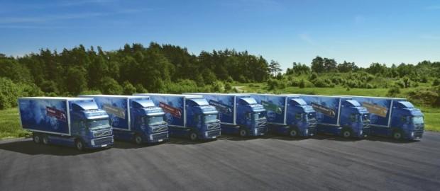 Volvo Trucks erprobt Lkw-Motoren mit Diesel und Methangas
