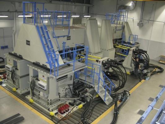 Volvo nimmt weltweit größte Achsen-Testanlage in Betrieb