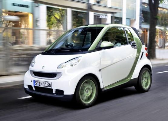 Zehn Smart Fortwo electric drive für Monaco