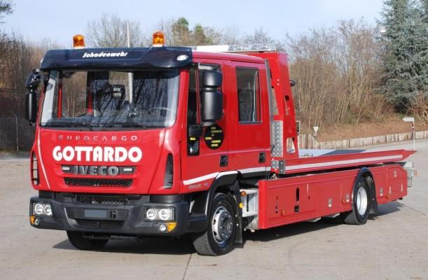 Zwei Iveco Eurocargo für den Gotthard-Tunnel