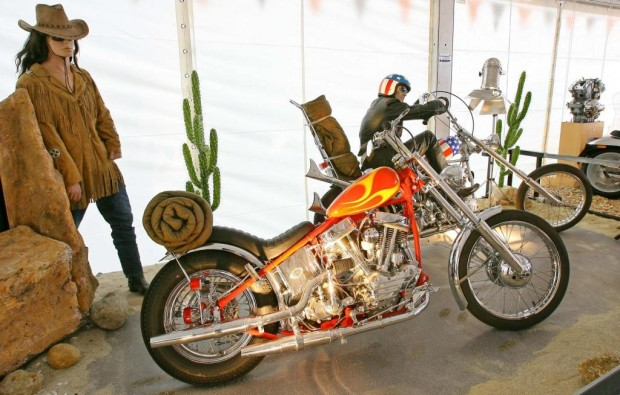 ''Mythos Harley'' bei der Billard-WM