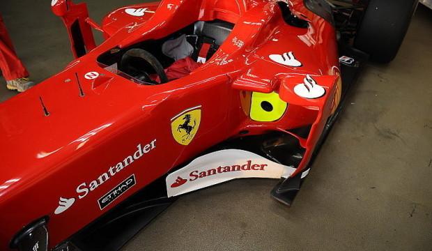 Alonso durfte für Ferrari testen: So sieht die neue Lackierung aus
