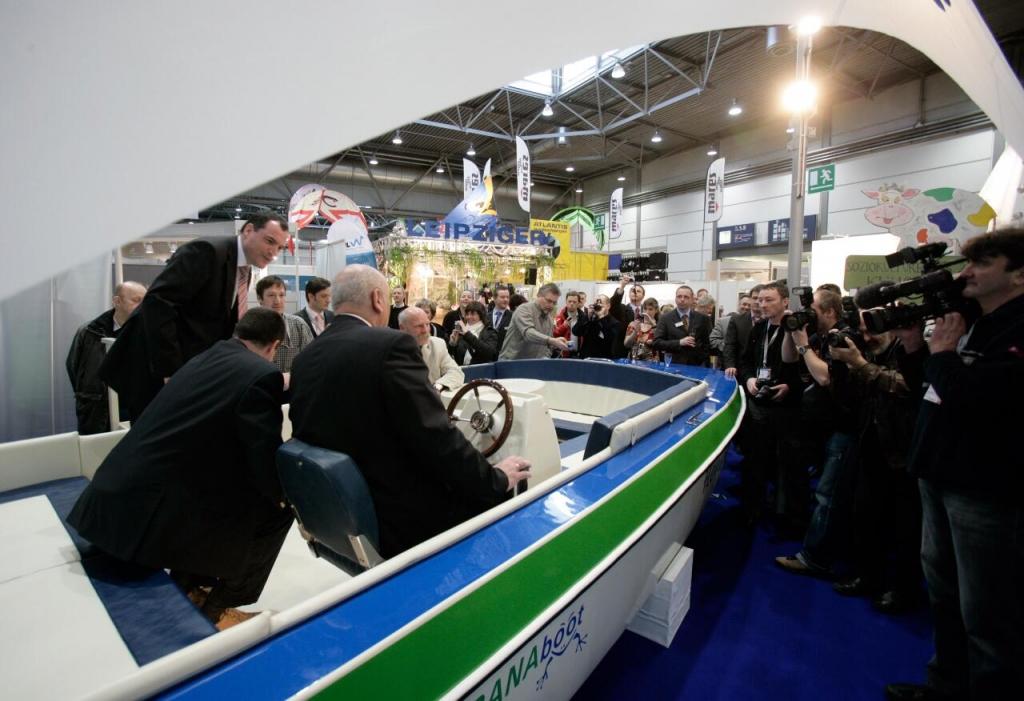 Beach & Boat Leipzig 2010: Wassersportmesse präsentiert Boote für jede Gelegenheit