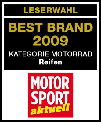 Bridgestone mit ''Best Brand''-Hattrick
