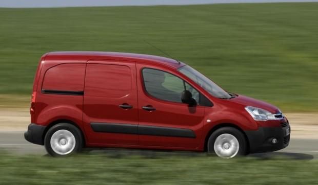 Citroën steigerte Marktanteil bei Nutzfahrzeugen