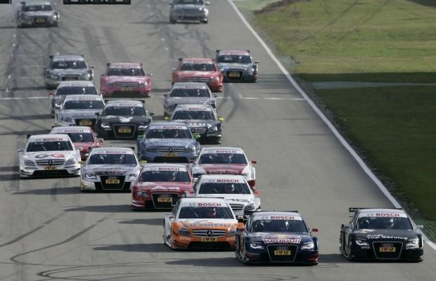 DTM-Rennkalender 2010: Zehn Rennen in fünf Ländern