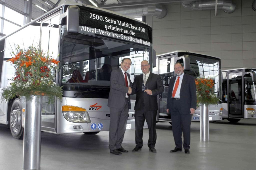 Daimler Buses  lieferte 2500. Setra MultiClass 400 aus