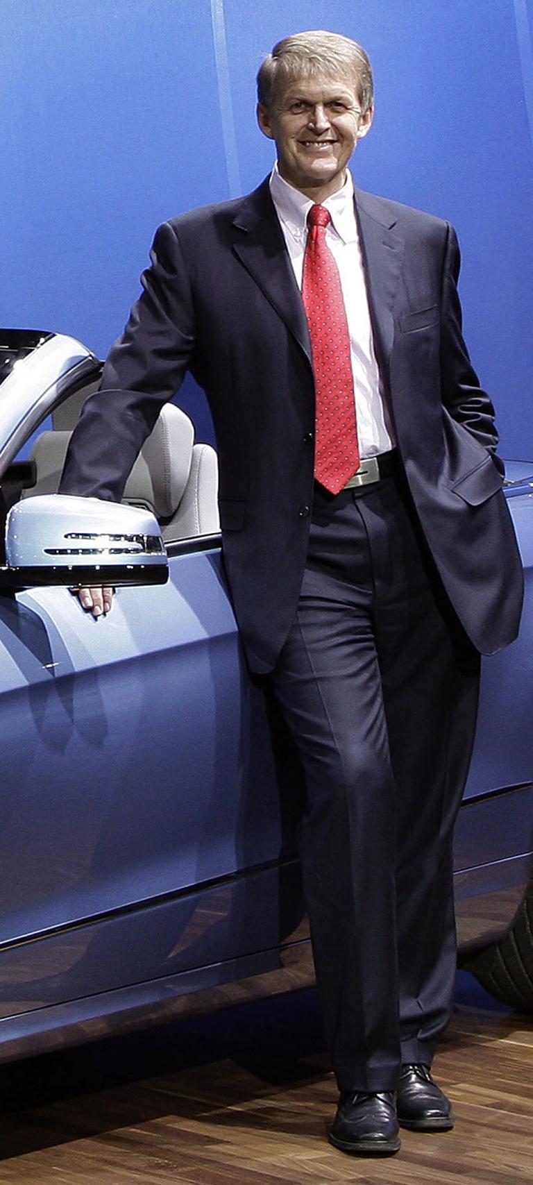 Daimler/Mercedes-Vorstand Weber: