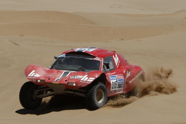 Dakar 2010: Robby Gordon gewinnt vierte Etappe