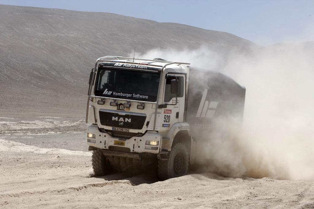 Dakar 2010: Volkswagen wieder in Führung - Bild(3)