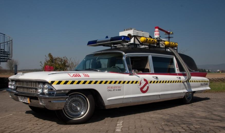 Das versteigerte Ghostbusters-Mobil, Foto von: Gamepro