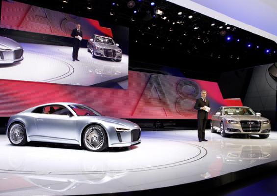 Detroit 2010: Audi A8 Audi e-tron gewinnen Preise auf der NAIAS