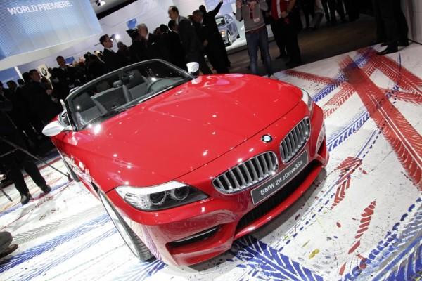 Detroit 2010: BMW präsentiert den stärksten Z4