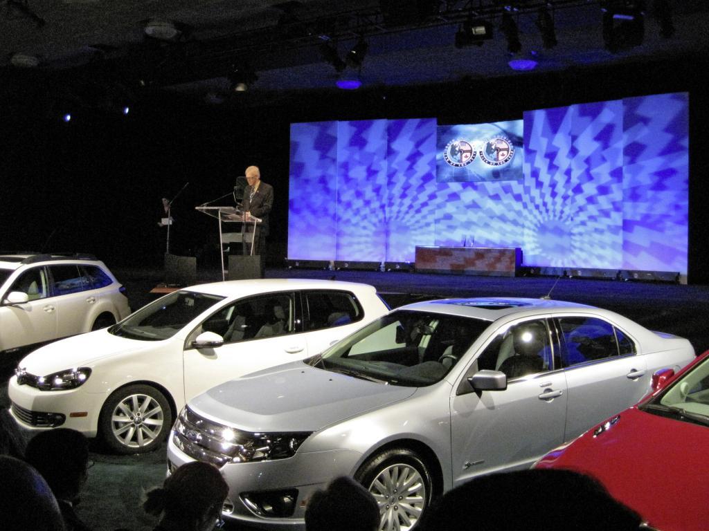 Detroit 2010: Ford Fusion und Transit Connect sind Autos des Jahres