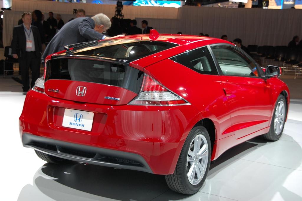 Detroit 2010: Honda CR-Z hat Weltpremiere