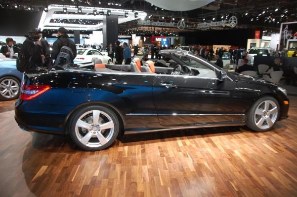 Detroit 2010: Mercedes-Benz E-Klasse Cabrio ab sofort bestellbar