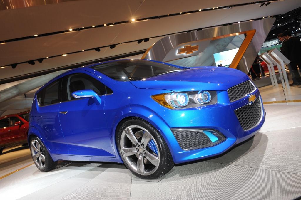 Detroit Motor Show 2010: Chevrolet setzt auf attraktive Kleinwagen