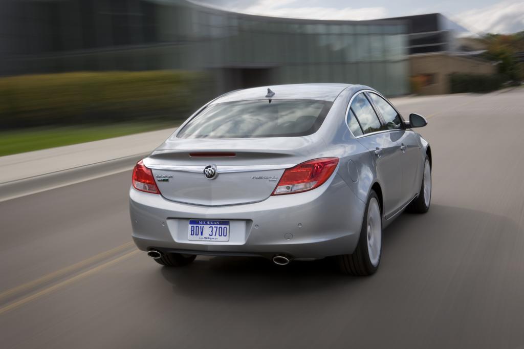 Die ersten Buick Regal baut Opel