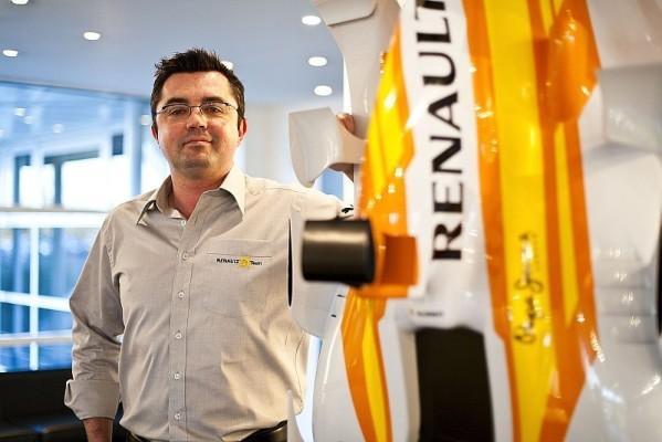 Eric Boullier : Renault in die Erfolgsspur führen