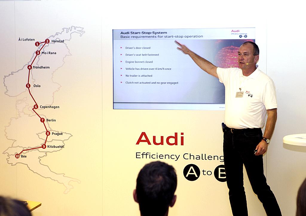 Erklärt, wie es geht: Öko-Trainer Kai-Uwe Jochims.
