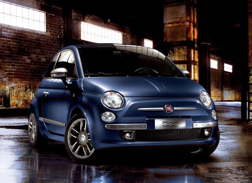 Fiat 500 ist Blickfang bei Modemesse - Bild(1)