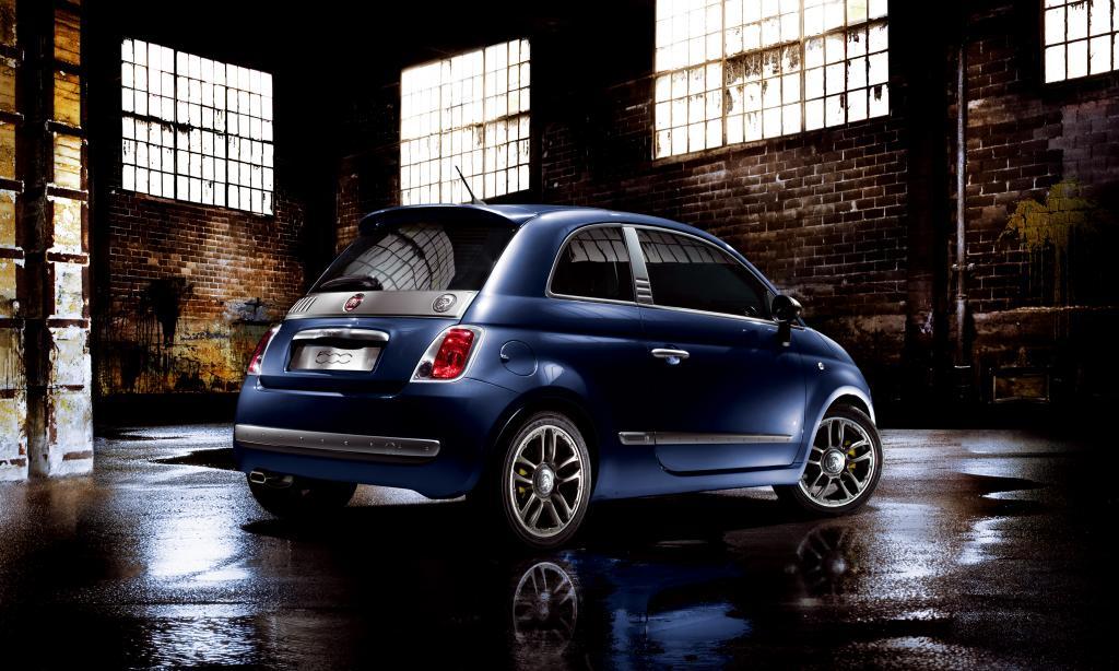 Fiat 500 ist Blickfang bei Modemesse - Bild(2)