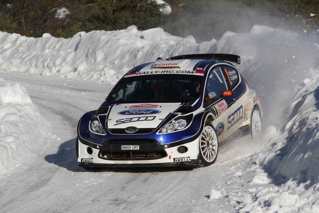 Ford Fiesta S2000 gewinnt die Rallye-Monte-Carlo
