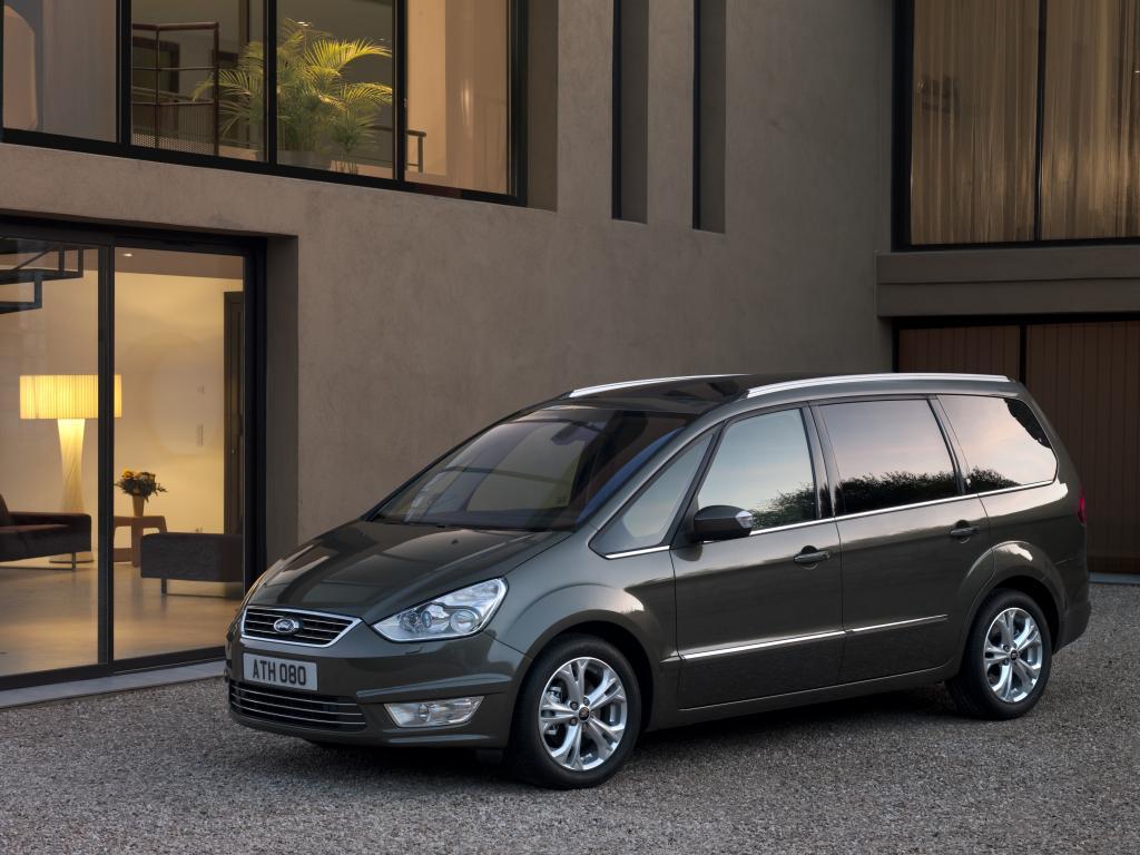 Ford zeigt in Wien modellgepflegten S-Max und Galaxy