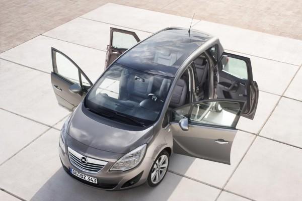 Genf 2010: Opel Meriva mit gegenläufig öffnenden Türen