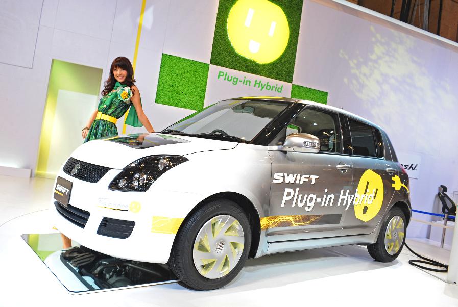 Genf 2010: Premiere des neuen Flaggschiffs Suzuki Kizashi, Swift Plug-in-Hybrid und Grand Vitara - Bild(9) - Bild(9)