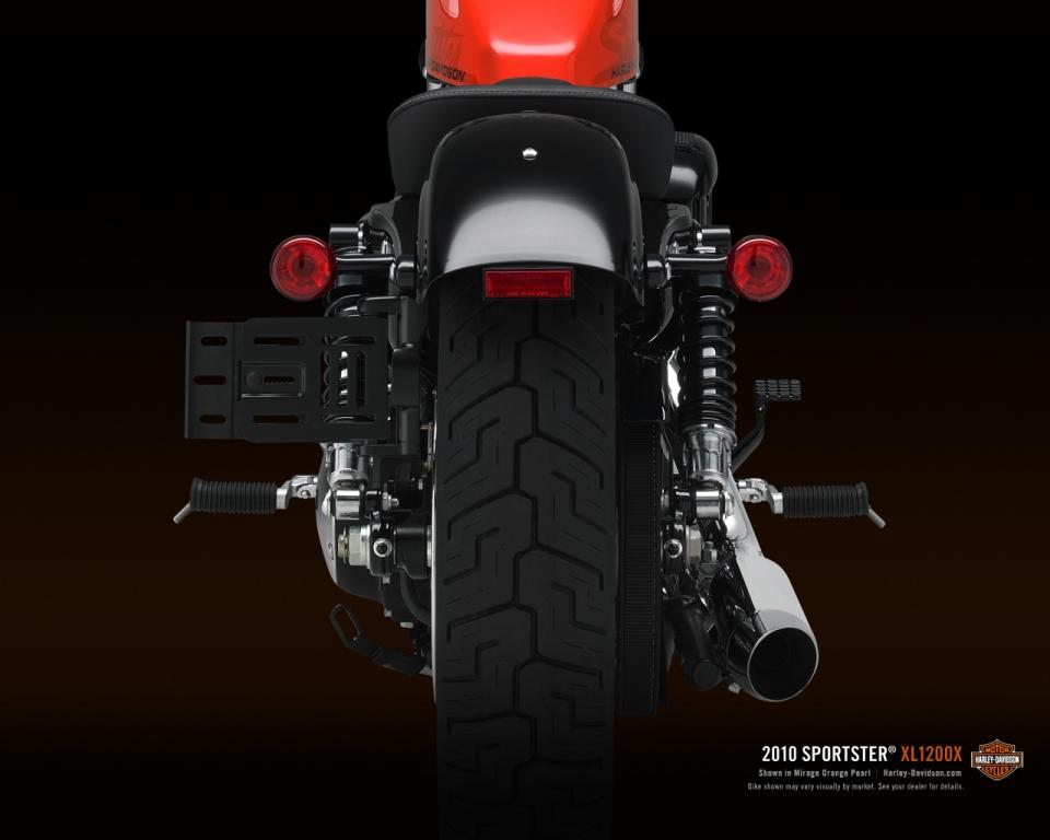 Harley-Davidson Sportster als nostalgische Forty-Eight