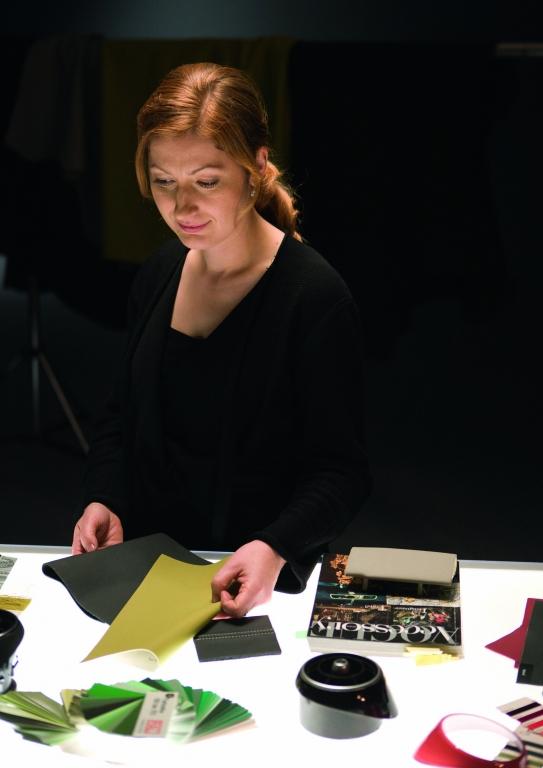 Jana Bonkova, Farbdesignerin bei Audi
