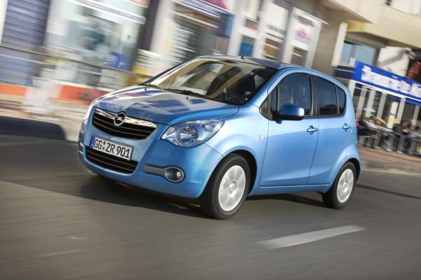 Jetzt auch Opel Agila mit Autogasmotoren