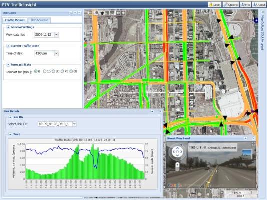 Jetzt verbessert PTV die Verkehrsinformationen auch in Nordamerika