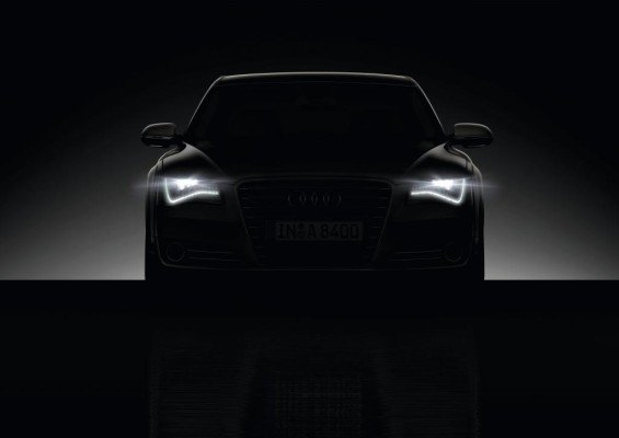 Licht und Navigation beim Audi A8: Vorausschauend