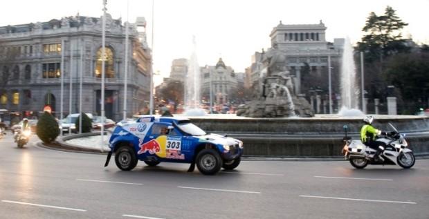 Madrid empfängt Dakar-Sieger Carlos Sainz mit Jubel