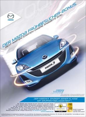 Mazda lockt mit Frühbesucher-Bonus