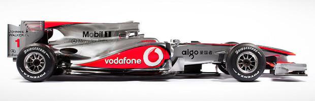 McLaren stellt neues Auto vor: Buttons und Hamiltons Silberpfeil