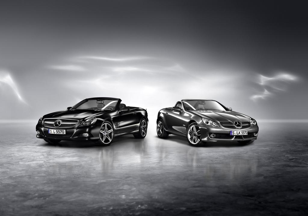 Mercedes-Benz: Zwei neue Roadster Editionen