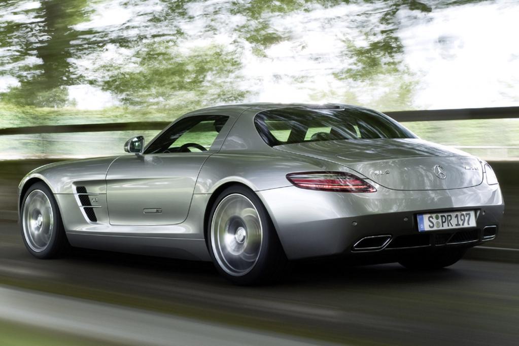 Mercedes SLS AMG: Fertigung in Handarbeit startet - Bild(8) - Bild(8)