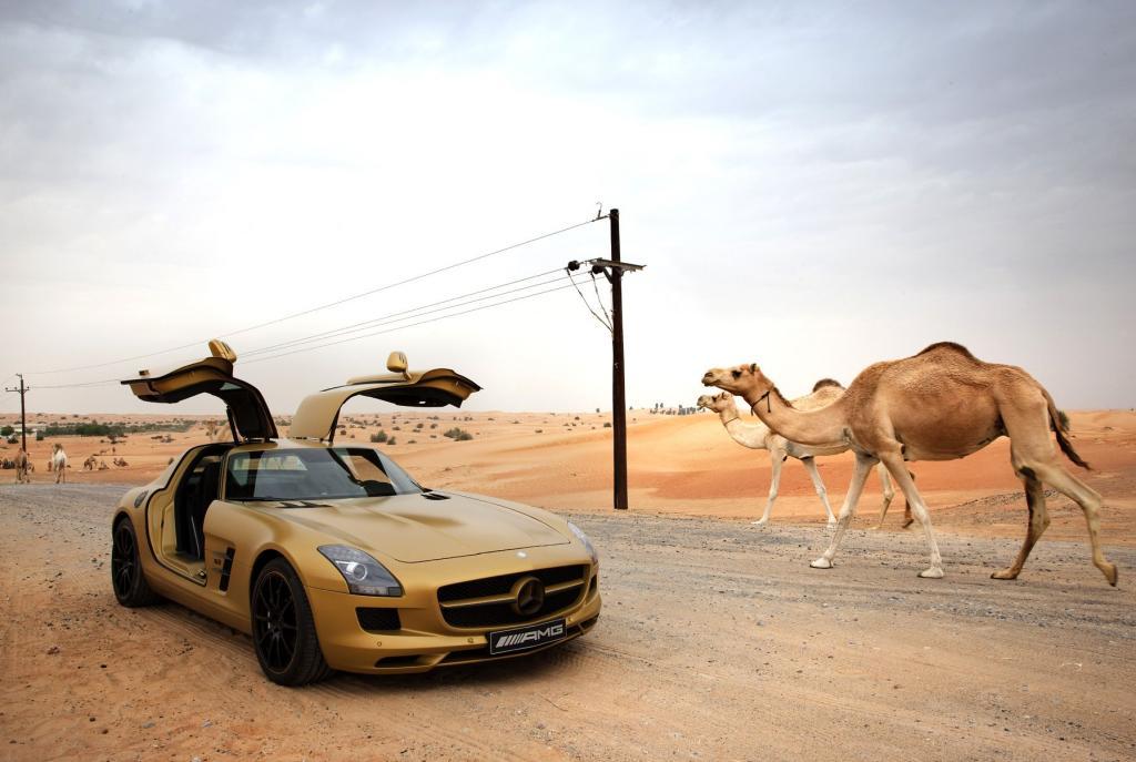 Mercedes SLS AMG: Fertigung in Handarbeit startet