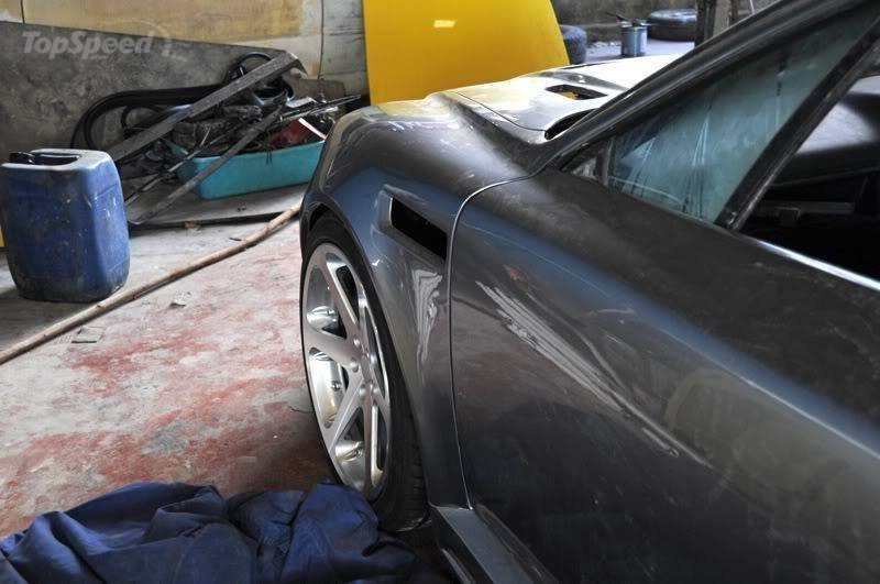 Nach der Verwandlung glänzt der Wagen, Foto von: www.topspeed.com