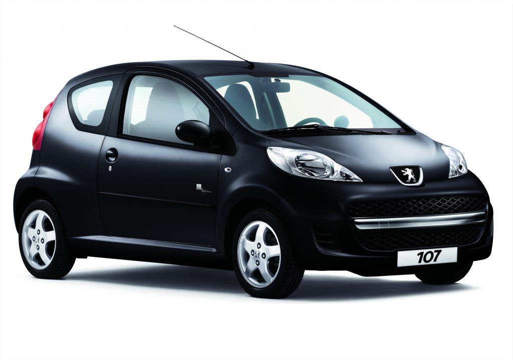 """Peugeot 107 als """"Black & Silver Edition"""" erhältlich - Bild(2)"""