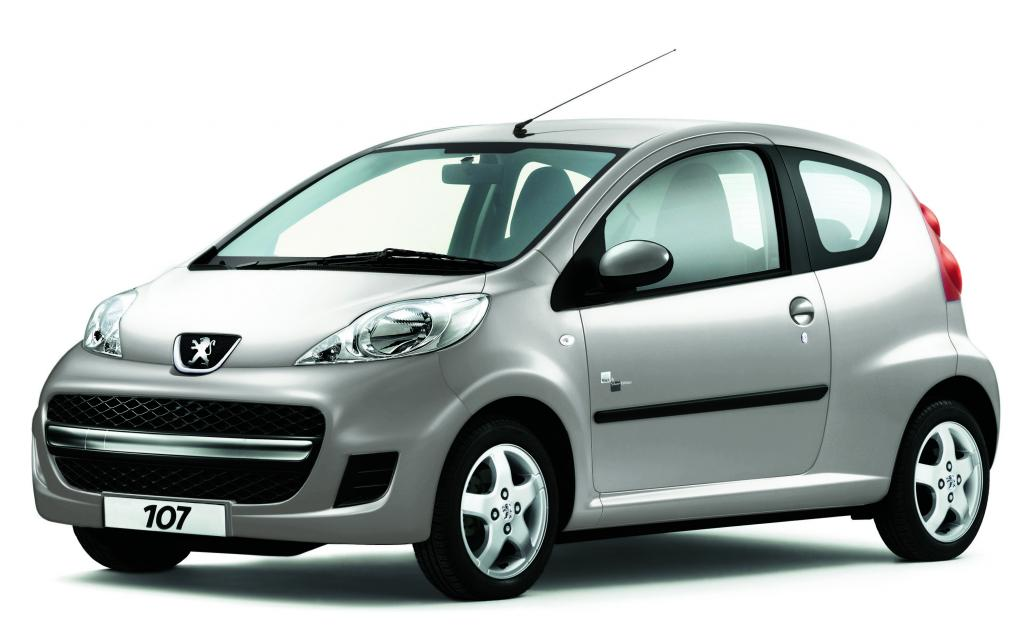 """Peugeot 107 als """"Black & Silver Edition"""" erhältlich"""