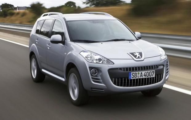 Peugeot 4007 jetzt auch mit Doppelkupplungsgetriebe