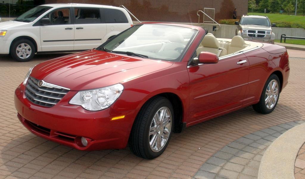 Platz 10: Chrysler Sebring. Ob als Cabrio oder Limousine - der Amerikaner hat sich noch nicht durchgesetzt (407).