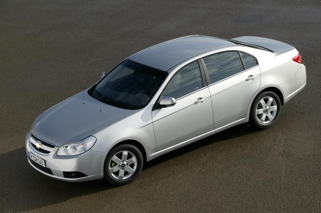 Platz 6: Chevrolet Epica. Die koreanisch-amerikanische Mittelklasse - beim Absatz eher Unterklasse (360).
