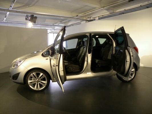 Pressepräsentation Opel Meriva: Minivan à la Rolls