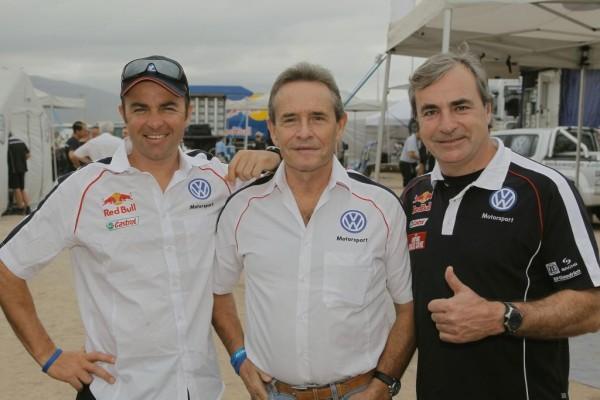 Rallye Dakar: Zu Besuch im Volkswagen Biwak