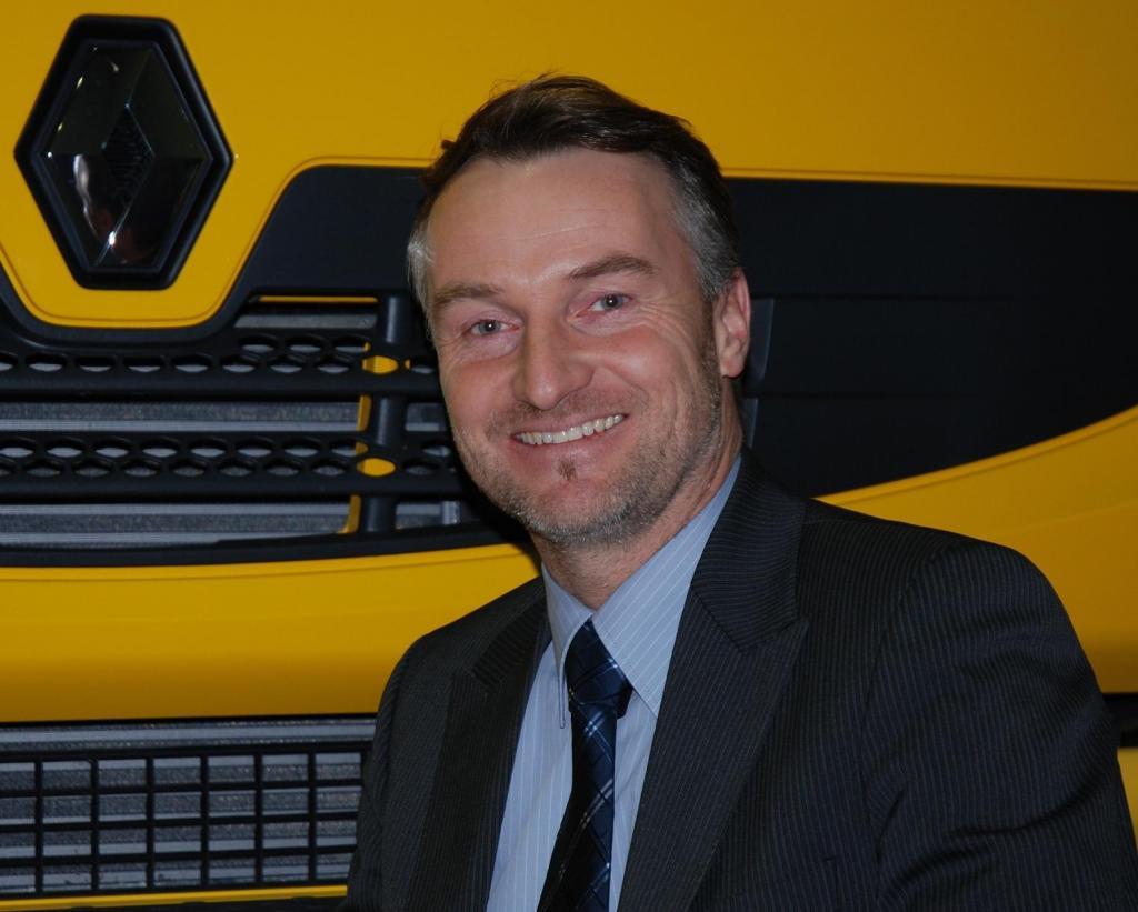 Reiner Lamken, neuer Niederlassungsleiter in Hamburg.